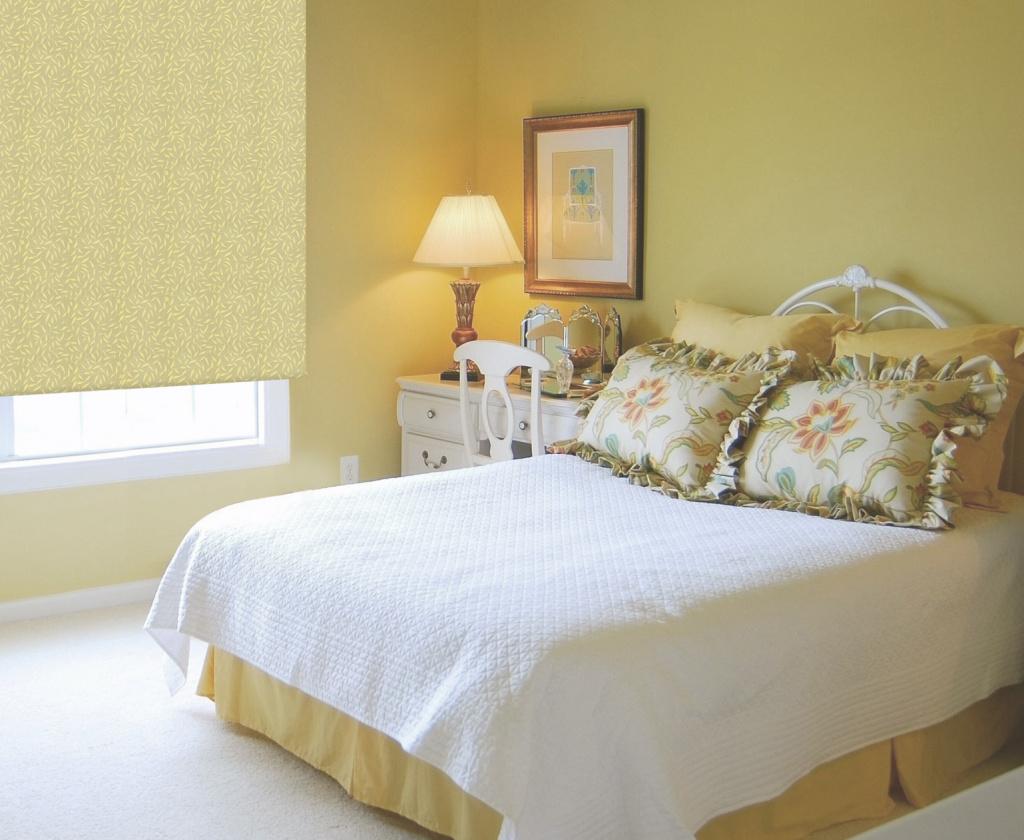 Жалюзи «блэкаут» для уютной спальни
